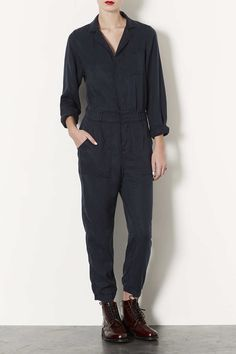 Casual Boiler Suit - Playsuits and Jumpsuits - Clothing - Topshop Europe