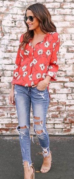 Fabulous Spring And Summer Outfit Ideas For 2018 47