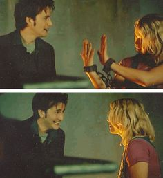 David & Billie. #DoctorWho