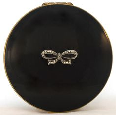 Vintage Stratton powder compact with marcasite 1960s. I have this in my small collection.