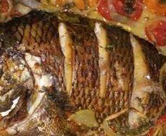 peixe inteiro assado no forno ou no papel aluminio - Google Search