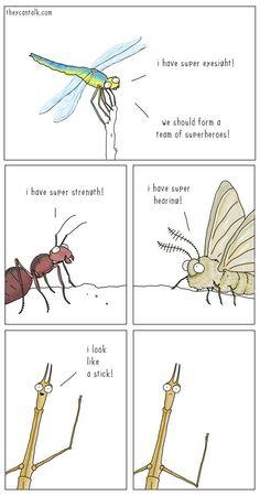 Super Insects Unite! - Neatorama