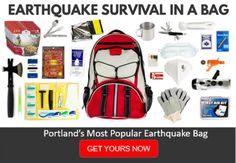 Portland Earthquake Bag