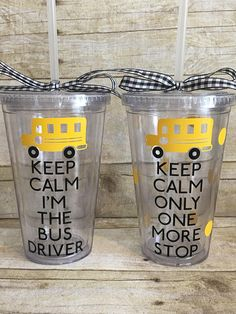 School Bus Driver Tumbler-End Of The Year-Bus Driver