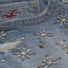 Bettys Low Rise Studded Short-shorts   #InHollister   HollisterCo.com