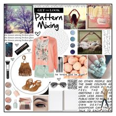 """""""midsummer nights dream"""" by holly-elizabeth ❤ liked on Polyvore featuring New Look, American Eagle Outfitters, AME, Topshop, H&M, Illamasqua, Terre Mère, Ray-Ban, Marcelo Burlon and Bobbi Brown Cosmetics"""