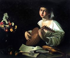 Hand Painted Canvas Oil Paintings Figure Wall Decor The Lute Player Michelangelo da Caravaggio Painting for Living Room Oil Painting On Canvas, Oil Paintings, Classic Home Decor, Hand Painted Canvas, Oil Painting Reproductions, Caravaggio, Italian Artist, Living Room Paint, Michelangelo