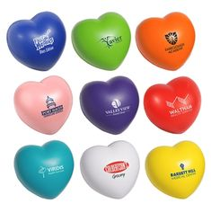Set of 4 Valentines Day Neoprene Coasters