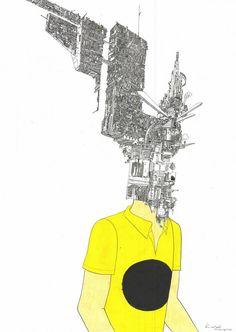 sakaguchi-kyohei-drawings-2.jpg (584×822)