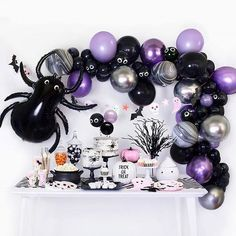 Throw a Halloween party or a boo-thday party for kids with this party box that's too cute to spook! Check out our Halloween Collection for more party supplies and decoration ideas! Couples Halloween, Halloween Party Themes, Baby Halloween, Birthday Party Themes, Halloween Designs, Halloween Icons, Childrens Halloween Party, Outdoor Halloween, Halloween Baby Showers