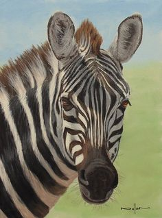 How to Paint a Zebra in Acrylic — Online Art Lessons