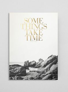 golden reminders | Some things take time. OLD GOLD edition. B/W by Congostudio