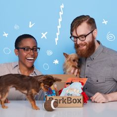 Get a monthly box of treats, toys & products for your pup that you can't find anywhere else! Plans start as low as $20/month and all treats are made in USA or Canada.