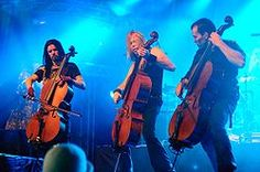 Apocalyptica - one of my favorite bands ever.  Met them a bunch of times and they are the greatest guys.