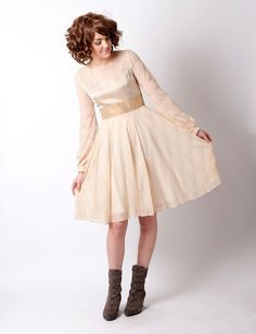 Hey, I found this really awesome Etsy listing at https://www.etsy.com/listing/222745116/beige-lace-dress-short-beige-mesh-dress