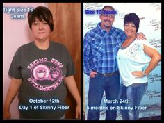 "Tricia says: ""Not sure how I let myself get to that person on the left...but so happy that I am no longer her!!....I feel better than I have in years!!...Skinny Fiber has changed my life!!"" Order Today: http://peanut220g.sbc90.com/"