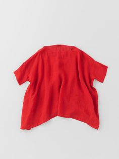 Arts & Science   SS 2013   Short Sleeve Tent Line Blouse