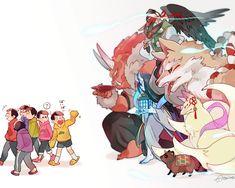 Ảnh Osomatsu-san ( List AUs) - youkaimatsu - Page 3 - Wattpad Hot Anime Boy, Cute Anime Guys, All Anime, Manga Anime, Anime Art, Kawaii Anime, Osomatsu San Doujinshi, Pokemon, Ichimatsu