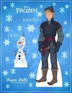 Bambole Carta Frozen 03