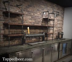 Cheap And Easy Cool Ideas: Industrial Cafe Garden industrial bookshelf office., 10 Cheap And Easy Cool Ideas: Industrial Cafe Garden industrial bookshelf office., 10 Cheap And Easy Cool Ideas: Industrial Cafe Garden industrial bookshelf office. Industrial Basement Bar, Modern Industrial Decor, Industrial Bookshelf, Industrial Cafe, Industrial Apartment, Industrial Bedroom, Industrial Farmhouse, Industrial Interiors, Industrial Living