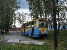 Volchansk in Russia. The tramway was built by German POWs.