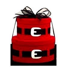 #Christmas gift wrapping #DIY #crafts ToniK ⓦⓡⓐⓟ ⓘⓣ ⓤⓟ Red Santa suit hat boxes cottageinthemaking.blogspot.com