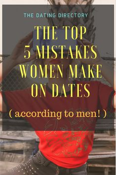 Biggest dating mistake by men over 50