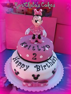 minnie mouse cake ideas | fondant cake minnie mouse by marichula s cakes stuff