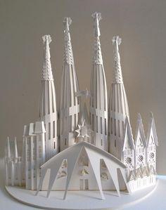 Sangrada Familia designed by one of my favorite architects Antoni Gaudi - Megan Brian