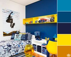 A perfect bedroom for boys