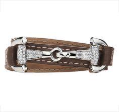 Snaffle bit bracelet. Yes, please!
