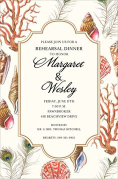 Reef Invitations