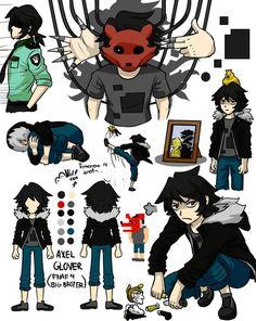 Axel Glover by Wolf-con-f on DeviantArt Fnaf 1, Anime Fnaf, Anime Comics, Life Is Strange, Five Nights At Freddy's, Fnaf Pole Bear, Freddy 's, Fnaf Sister Location, Wolf