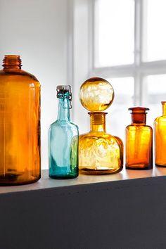 amber and aqua glass Creo que en todo hay belleza pero no todos podemos ver esa belleza!!!