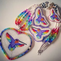 Image may contain: 1 person Beading Projects, Beading Tutorials, Beading Patterns, Native Beadwork, Native American Beadwork, Powwow Beadwork, Indian Beadwork, Bead Earrings, Crochet Earrings