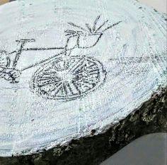 Biking gardens artfromperry