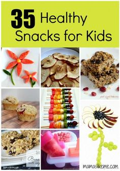 35 Nutritious #Snacks for Kids - great for Summer and after school! #caprisunmoms