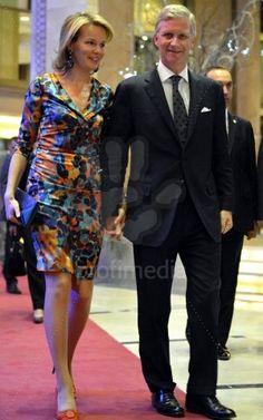 Prince Philippe & Mathilde