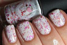 Icy Nails: I Love Nail Polish Strawberry Creme: Swatch and Review