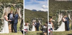 A simple, casual, destination wedding in Moab, Utah (images: @chelseadawnwedd via @luxemtweddings).