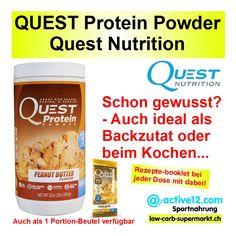 #lowcarbRezepte - Tipp http://www.active12.ch/Ihr-Ziel---Stichwort-Abfrage/Produkte-fuer-Diabetiker/QUEST-Protein-Powder-Erdnuss-Dose.html #lowcarb #lowfat #highprotein #hoherProteingehalt #muskelaufbau #bodybuilding #abnehmen #CheatClean #fitness #active12 #Weihnachten #Geschenkidee #QuestProtein #QuestNutrition