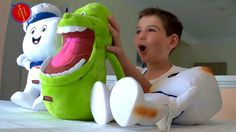 Stay Puft and Slimer Talking Plush Toys Ghostbusters Movie