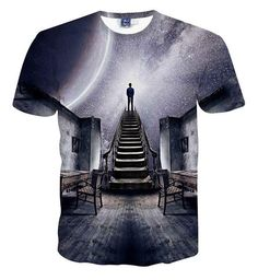 20 Different Styles of High Quality 3D Front and Back Printed Cotton T-Shirts to Choose From