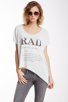 Um.. need this shirt.. I brought back the word RAD!!! lol