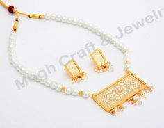 Indian Fusion art jewellery - Party wear Thewa Necklace set - Indian Thewa Art Necklace set - For Wholesale Visit@ www.indianethnicjewelry.com
