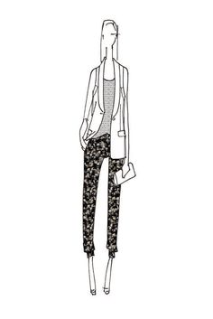 9a0d6fa4dbf A sketch of a Peter Som look for Kohl s.  Courtesy Photo  Fashion  Illustration