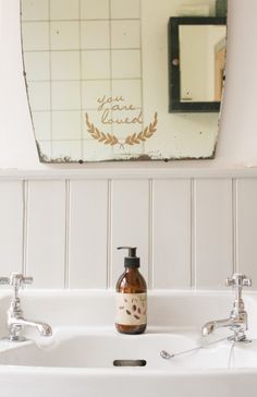 You are loved (via An Eclectic Home in Bristol | Design*Sponge)