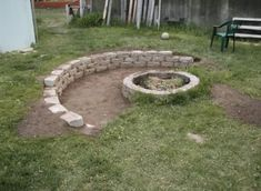 """Exceptional """"outdoor fire pit designs"""" info is available on our internet site. Check it out and you wont be sorry you did. Fire Pit Party, Diy Fire Pit, Fire Pit Backyard, Backyard Patio, Backyard Seating, Backyard Ideas, Sloped Yard, Sloped Backyard, Fire Pit Landscaping"""