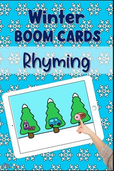 Winter Rhyming Boom Cards
