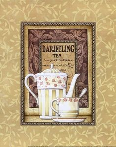 Darjeeling Tea. www.teacampaign.ca  Source: see below.